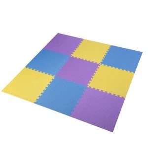 MP10 MATA PUZZLE MULTIPACK YELLOW-BLUE-PURPLE 9 ELEMENTÓW 10MM ONE FITNESS
